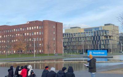 Ausflug zu ThyssenKrupp