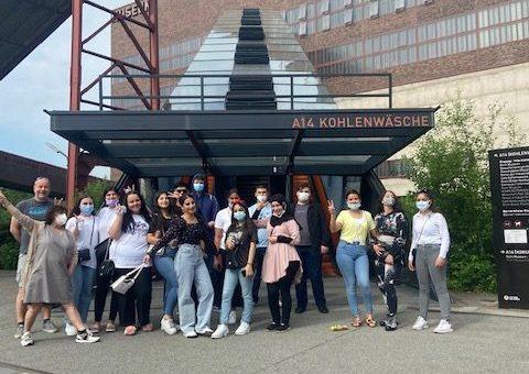 Besuch der Beuys-Ausstellung auf Zollverein